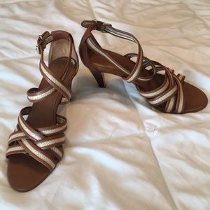 Banana Republic Strappy Heels 👠 Size 7 1/2